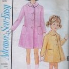 Advance Sewing Pattern 3424 Girls Spring Dress Coat Size 10 Easter Vintage