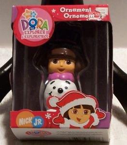 Christmas Dora the Explorer Ornament New Sealed Nick Jr Snowman 2006 Collectible