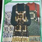 Lazy Girl Designs Sewing Pattern F888  Quilt Apron Easy Long Short New