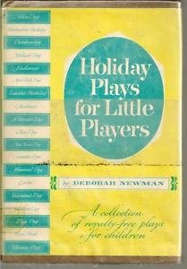 Holiday Plays for Little Players Vtg 1957 Royalty Free Plays Children