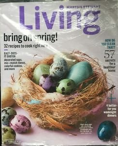Martha Stewart Living Magazine April 1 2015 57 Secrets for Healthier Home