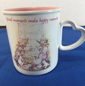 Holly Hobbie 1990 American Greetings Special Moments Make Happy Memories Mug
