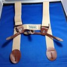 "Wader Boot Suspenders Hodgman Deluxe H Style Back 1.5"" X 26"" Hunting Fishing"