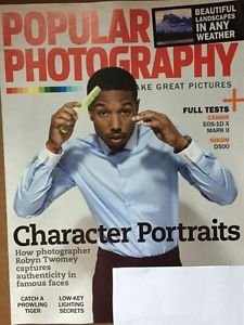 Popular Photography Magazine New September 2016 Character Portraits Robin Twomey