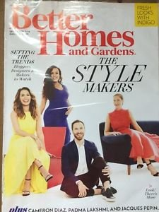 Better Homes and Garden September 2016 New Magazine The Style Makers