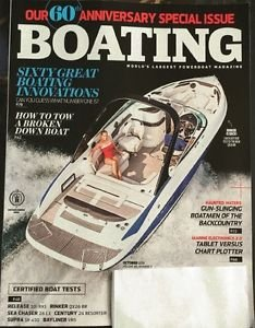 Boating Magazine New October 2016 60th Anniversary Special Issue