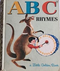 A B C Rhymes A edition 1964 Little Golden Book