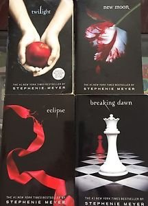 The Twilight Saga Books  1-4 Paperback Series Stephenie Meyer Moon Dawn Eclipse
