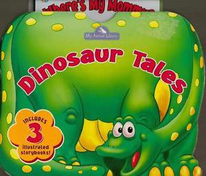 Dinosaur Tales 3 Board Books with Case My Animal Library