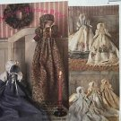 McCall's Sewing Pattern 5515 Heirloom Doll Pillow Case Fabric Long Skirt Uncut