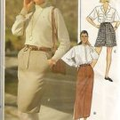 Vogue Sewing Pattern 7865 Skirt Classics Straight Fitted  Shorts Uncut 12 14 16