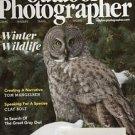 Outdoor Photographer Magazine Feb 2017  Winter Wildlife Gray Owl
