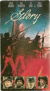 Glory Broderick Washington Freeman Civil War VHS