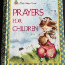 Prayers for Children Eloise Wilken Little Golden Book 1996