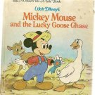 Walt Disney's Mickey Mouse and the Lucky Goose Chase Golden Tell-a-Tale Book