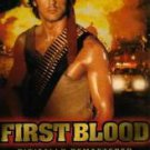 First Blood Rambo 1 VHS Sylvester Stallone