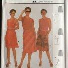 Burda Sewing Pattern 8640 Skirt Ruffle Front Side Slit Size 8-18 New Uncut