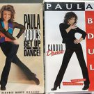 Paula Abdul VHS Lot New Get Up And Dance  Aerobic Dance Workout  Cardio Dance
