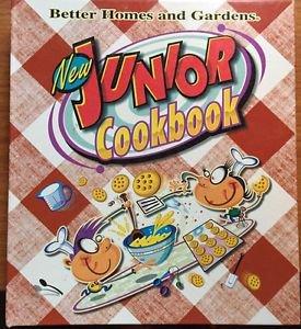 Better Homes and Gardens New Junior Cookbook Spiral bound 1997
