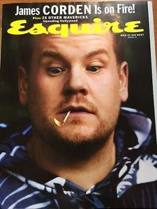 Esquire Magazine NEW March 2017 James Corden Cover