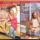American Girl 2 Books Isabelle Designs by Isabelle Costume Making Dance School
