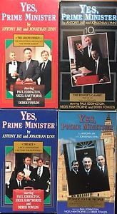 Yes, Prime Minister VHS Tapes Lot 4 BBC Video Grand Design Key Bishop's Gambit