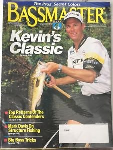 Bassmaster Magazine NEW November 2001 Volume 34 No10 Kevin's Classic