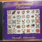 Traditional Patterns CD Music Donald Ashwander