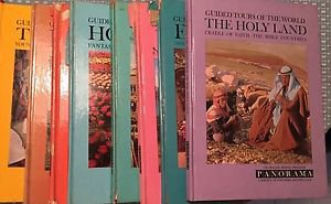 Panorama guided tours of the world book set 9 with record and slides