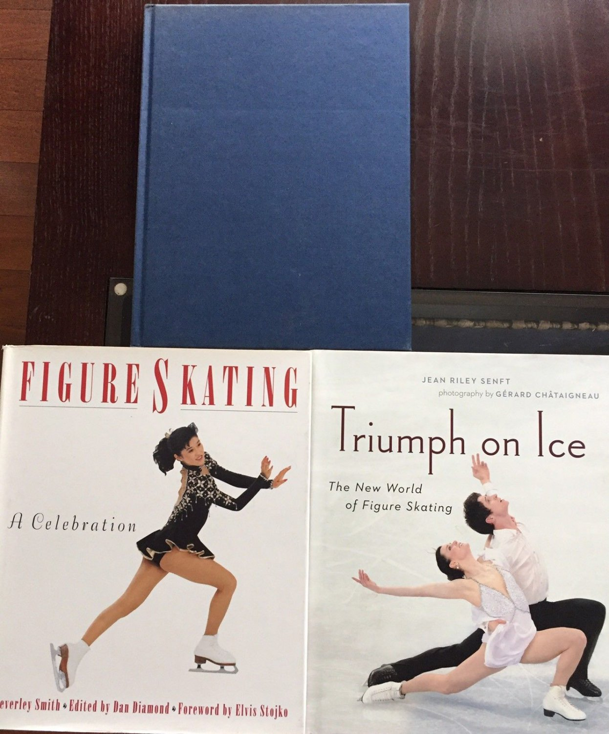 Figure Ice Skating 3 Book Lot Pictures Triumph on Ice Dancing Judging Olympics