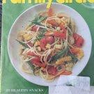 Family Circle NEW Magazine September 2014 Healthy Snacks Easy Organize Ideas