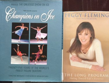 Figure Skating Books 2 Peggy Fleming Long Program Champions on Ice Pictures