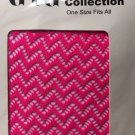 Pantyhose Mesh Bright Pink GTG Collection Nylon Spandex One Size Vintage New