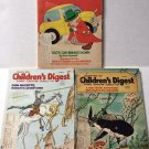 Children's Digest Magazines Lot of 3 January February March 1978 Stories Comic