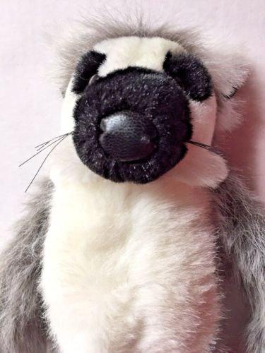 Wild Republic Ring Tailed Lemur Plush Stuffed Animal Toy Cuddlekins Super Soft