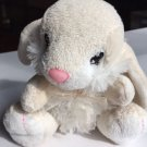 Dan Dee Bunny Rabbit Cream White 2010 Easter Plush Soft Stuffed Animal Toy