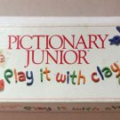 Pictionary Junior Game Parts Replacement Board Spinner Instructions Cards 1988