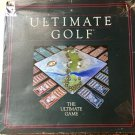 Ultimate Golf Board Game 1985 Parts Boards Cards Shot Locator Instructions