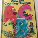 ABC and Counting Rhymes Wonder Books 1981 Mary Horton Illustrator