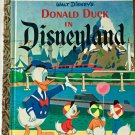 Donald Duck in Disneyland Little Golden Book D92