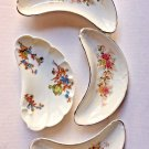 Crescent Dishes 3 Edwin Knowles Semi Viteous 1 Haviland Limoges France Floral