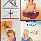 Yoga VHS Tapes Lot of 4 Tri-Yoga Level 1 New Austin Lilias Deason  Ray Pilates