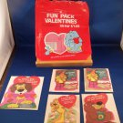 Valentines Day 5 Cards Vintage Fun Pack American Greetings 1983 Children's