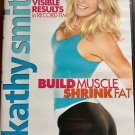Kathy Smith Build Muscle Shrink Fat DVD Case