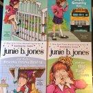 JUNIE B JONES LOT BOOKS 1-4 Paperback  Barbara Park Denise Brunkus Chapter