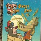 Disney's Talespin Ghost Ship Little Golden Book 104-62
