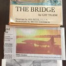 The Bridge Gay Talese 1st edition 1964 Newspaper Clippings from 1965