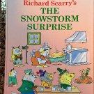 The Snowstorm Surprise Little Golden Book Richard Scarry