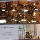 Gold Large Jingle Bell Vase Filler Unscented Set 16 New By Threshold Christmas