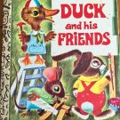 Duck and His Friends 1980 Little Golden Book Scarry 475-21
